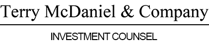 Terry McDaniel & Company Investment Counsel